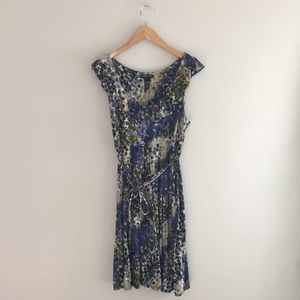 New York & Co. Stretch patterned midi dress